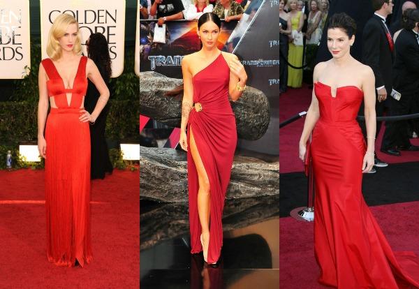 105 Trend sa crvenog tepiha: Crvene haljine
