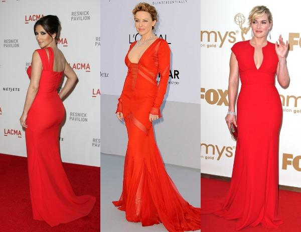 1210 Trend sa crvenog tepiha: Crvene haljine