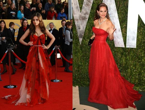135 Trend sa crvenog tepiha: Crvene haljine