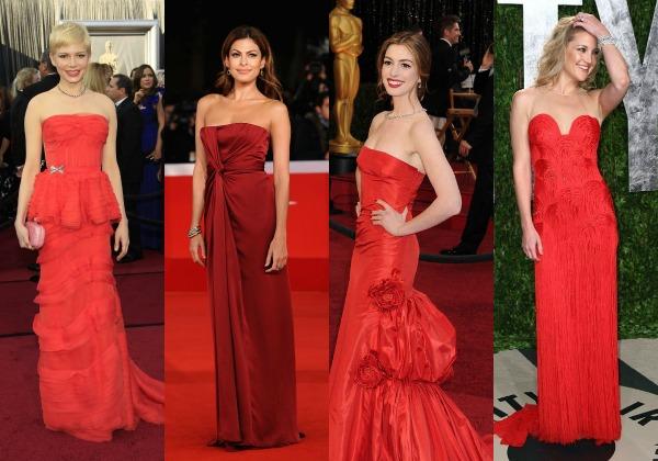 141 Trend sa crvenog tepiha: Crvene haljine