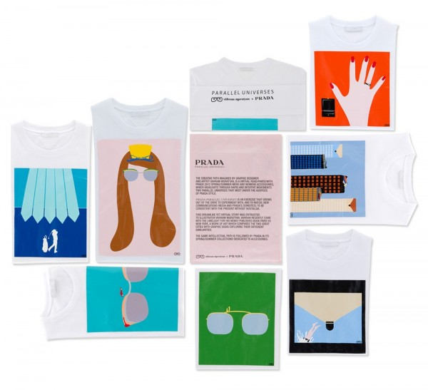 159 Modni zalogaj: Nova kolekcija letnjih majica s potpisom Prada