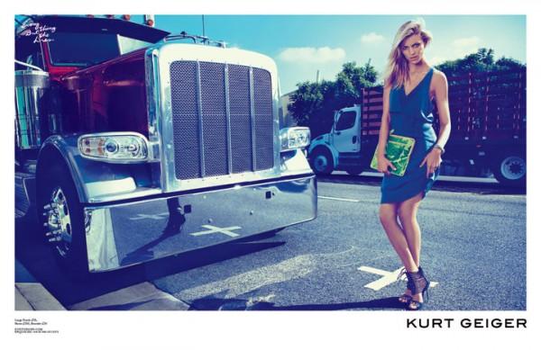 16 Kurt Geiger: Anja Rubik i Los Anđeles