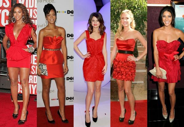 229 Trend sa crvenog tepiha: Crvene haljine