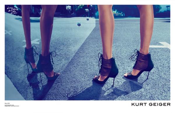 25 Kurt Geiger: Anja Rubik i Los Anđeles