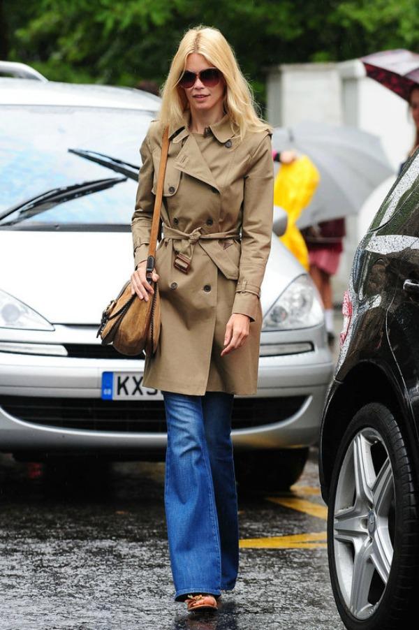 27 Street Style: Claudia Schiffer