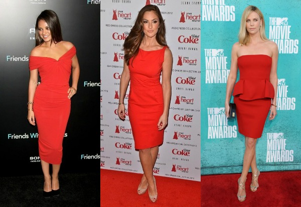 326 Trend sa crvenog tepiha: Crvene haljine
