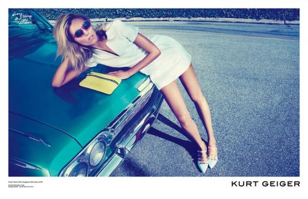 38 Kurt Geiger: Anja Rubik i Los Anđeles