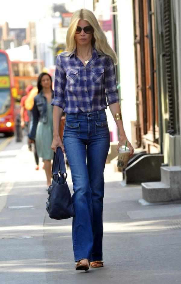 39 Street Style: Claudia Schiffer