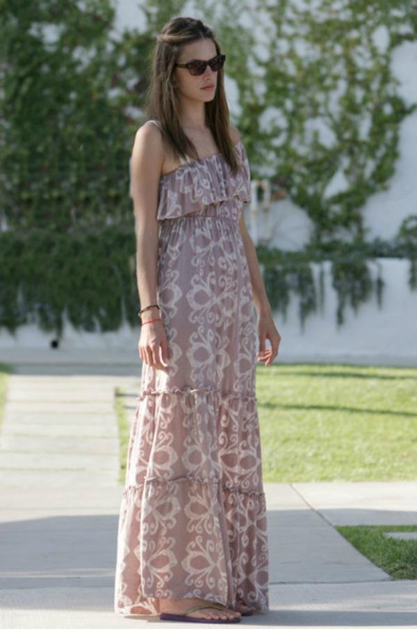 4.Alessandra Ambrosio Maksi haljine: Omiljeni komad za leto
