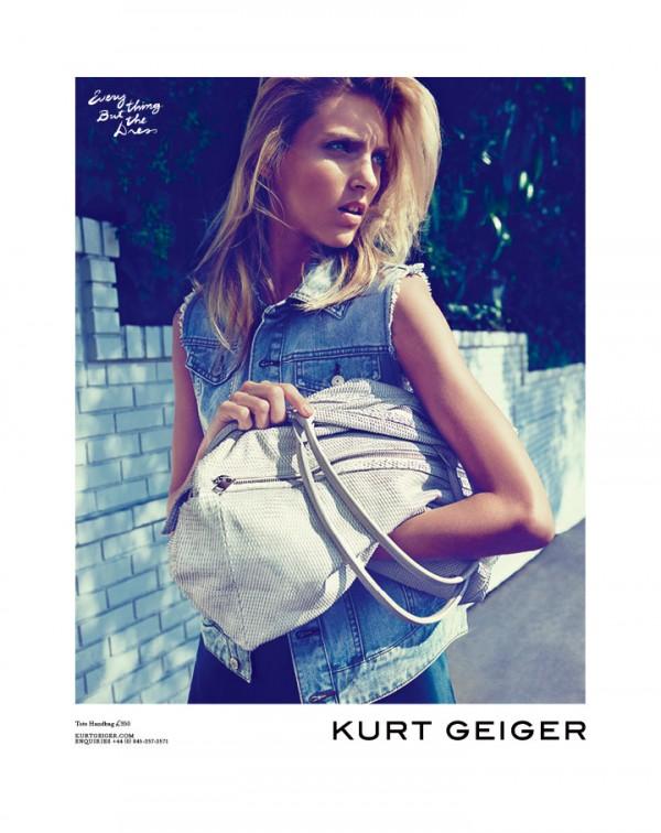 6 Kurt Geiger: Anja Rubik i Los Anđeles