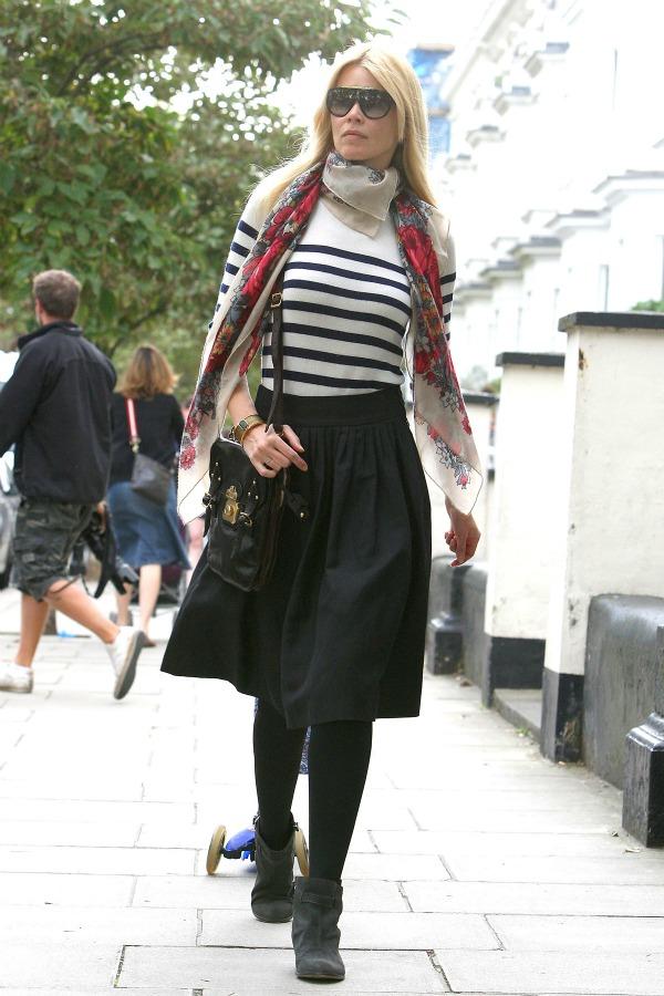 61 Street Style: Claudia Schiffer