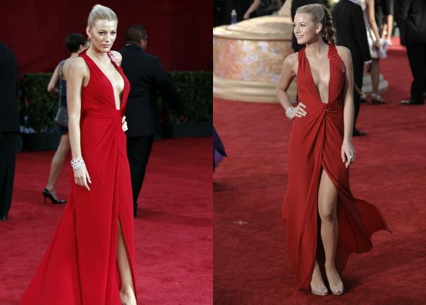 611 Trend sa crvenog tepiha: Crvene haljine