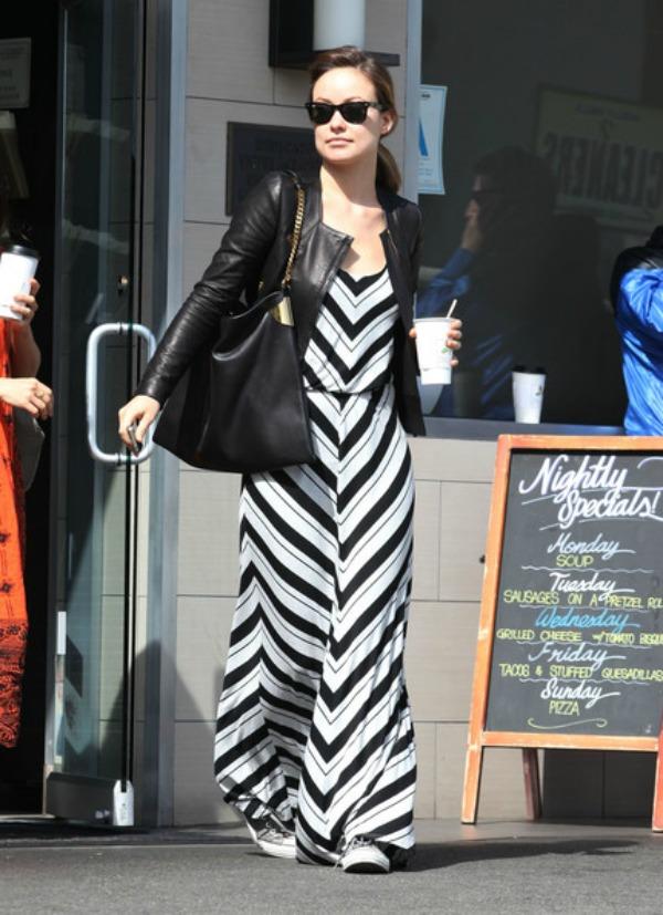 7.Olivia Wilde Maksi haljine: Omiljeni komad za leto