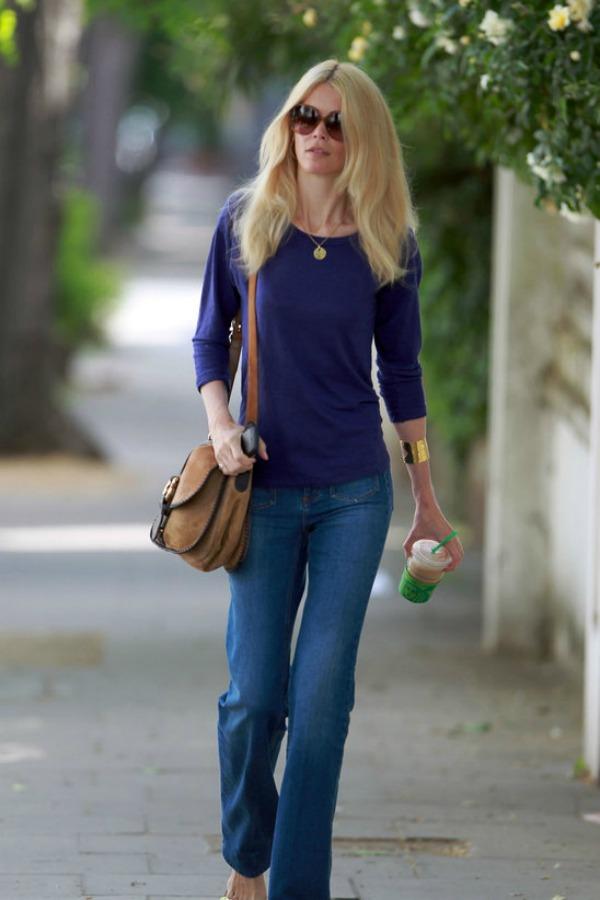 7 Street Style: Claudia Schiffer