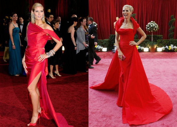 77 Trend sa crvenog tepiha: Crvene haljine