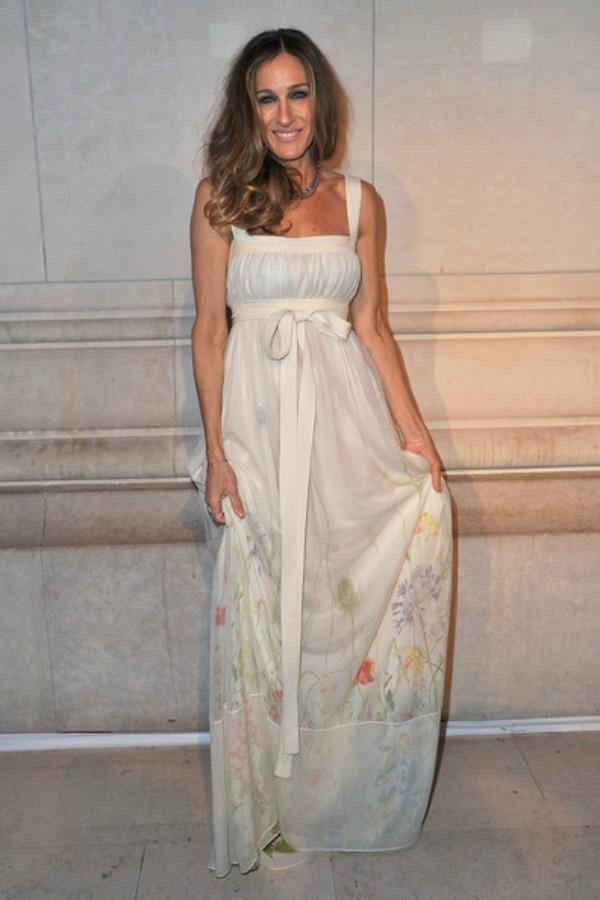 8.Sarah Jessica Parker Maksi haljine: Omiljeni komad za leto