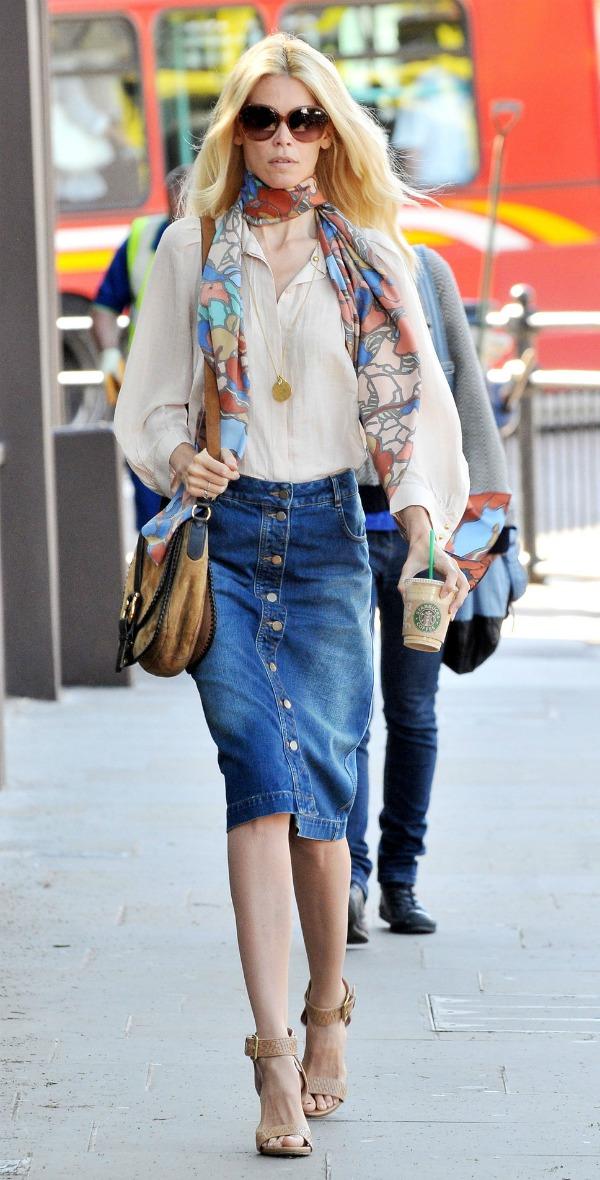 8 Street Style: Claudia Schiffer