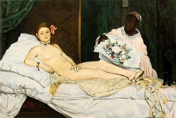 "800px Manet Edouard   Olympia 18633 Šetajući Parizom: ""Musée dOrsay"""