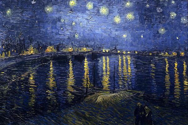 "800px Starry Night Over the Rhone3 Šetajući Parizom: ""Musée dOrsay"""