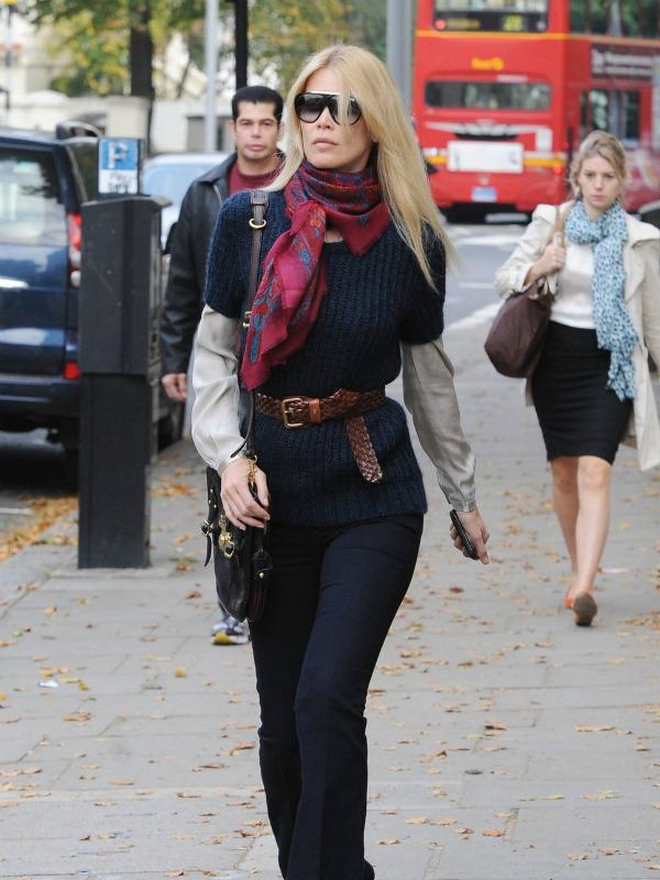9 Street Style: Claudia Schiffer