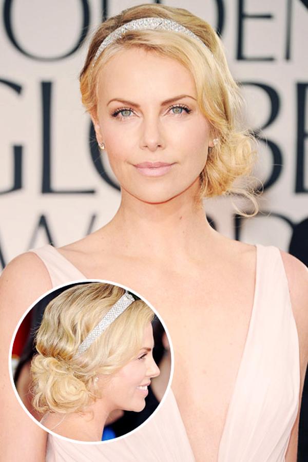 Charlize Theron Stil poznatih dama: Sedam modernih frizura za venčanje