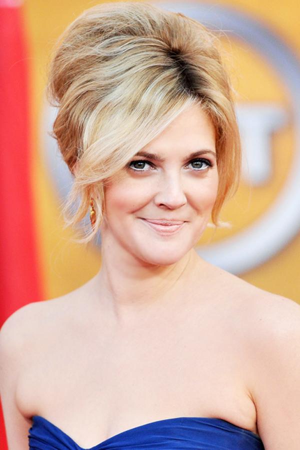 Drew Barrymore Stil poznatih dama: Sedam modernih frizura za venčanje