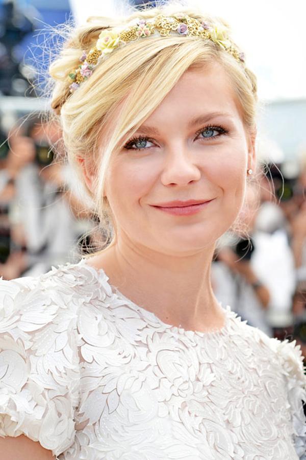 Kirsten Dunst Stil poznatih dama: Sedam modernih frizura za venčanje