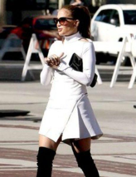 Street Style: Jennifer Lopez
