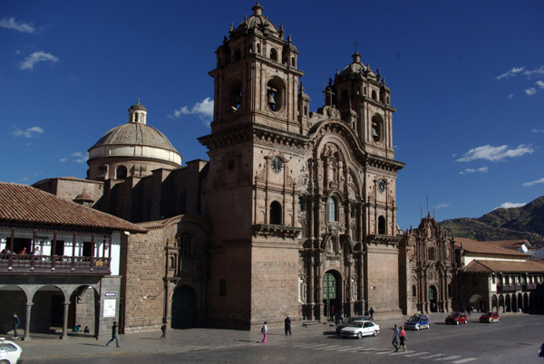 SLika4 Trk na trg: Plaza de Armas, Kusko