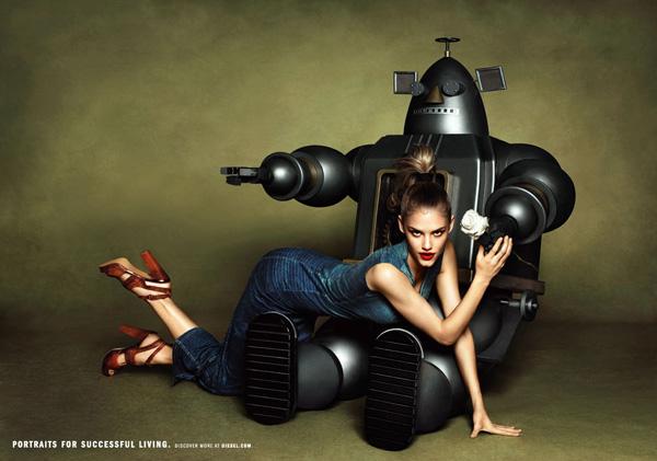 Slika 144 Diesel: Moda kao način življenja