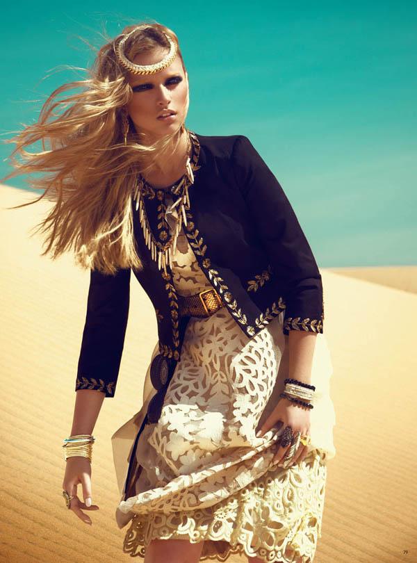 Slika 162 Grazia UK: Kraljica pustinje