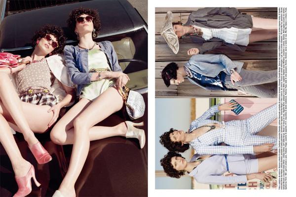 Slika 227 Vogue Italia: Glamur pedesetih