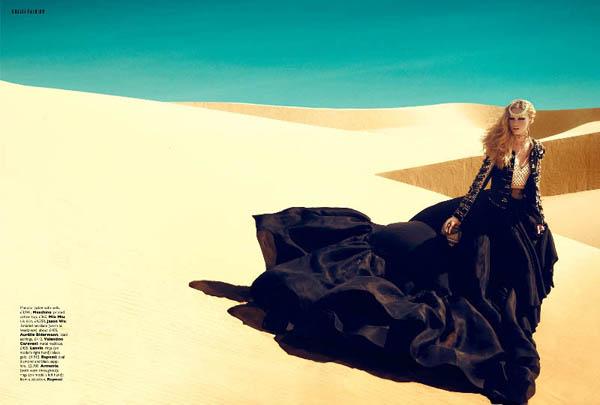 Slika 255 Grazia UK: Kraljica pustinje
