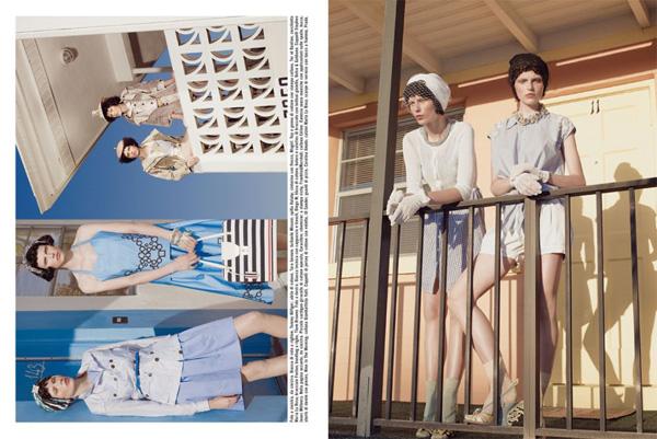 Slika 322 Vogue Italia: Glamur pedesetih