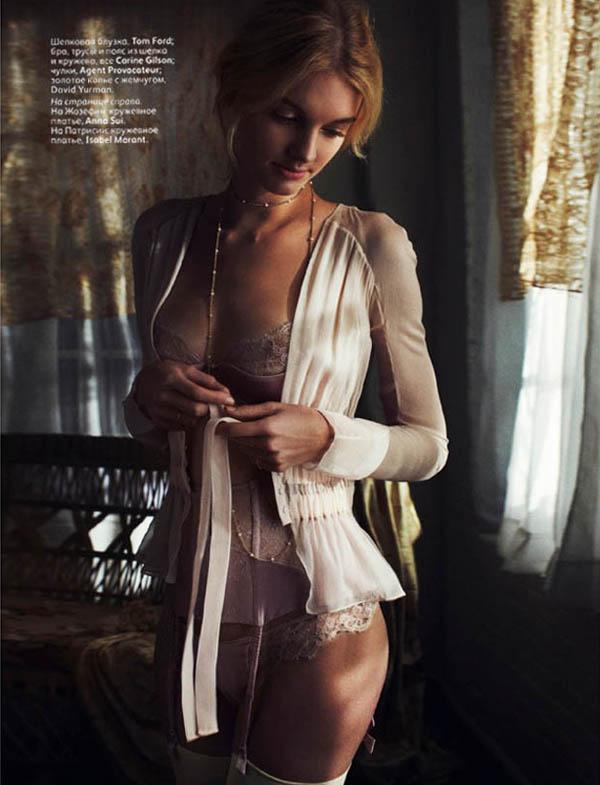 Slika 37 Vogue Russia: Tuga i lepota