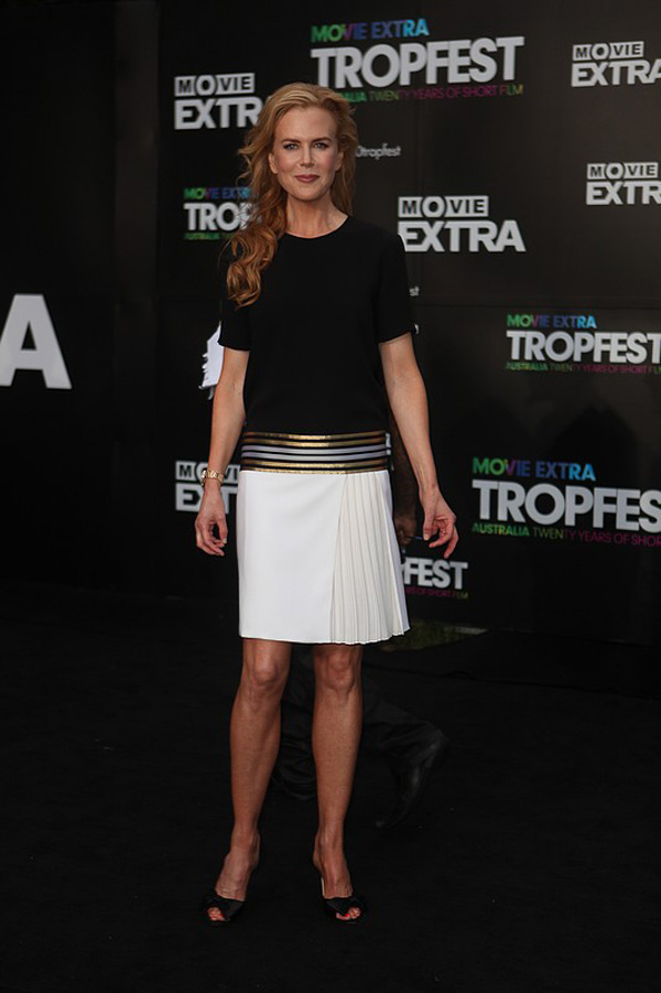 Slika 4 Gucci 10 odevnih kombinacija: Nicole Kidman