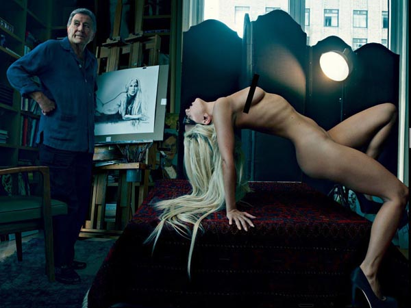 Slika 4 Toni Benet i Lejdi Gaga za januarski Vanity Fair 2012 Stil moćnih ljudi: Život kroz objektiv Annie Leibovitz