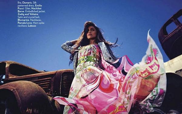 """Slika 441 """"Vogue India"""": Deepika Padukone osvaja Afriku"""