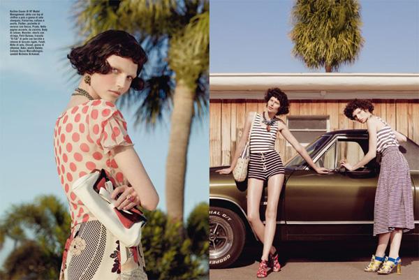 Slika 517 Vogue Italia: Glamur pedesetih