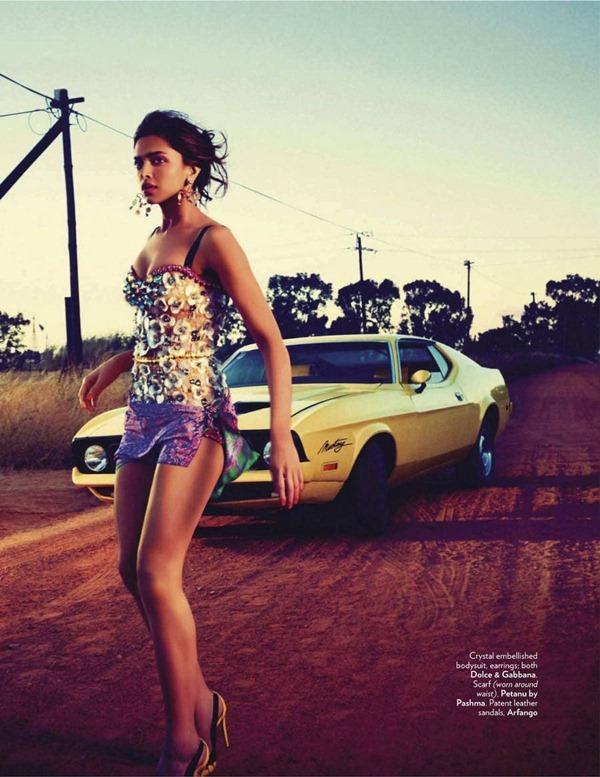 """Slika 533 """"Vogue India"""": Deepika Padukone osvaja Afriku"""