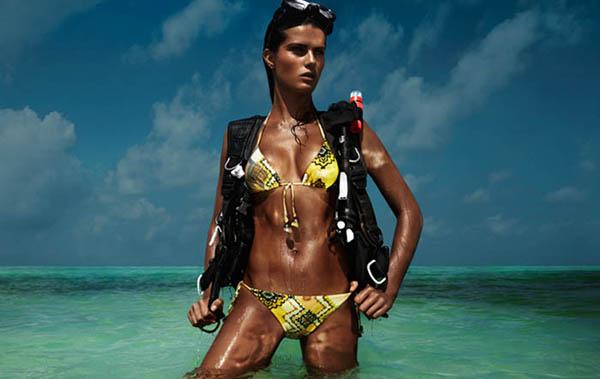 Slika 711 H&M Beach Sensation: Odmor u bikiniju iz snova