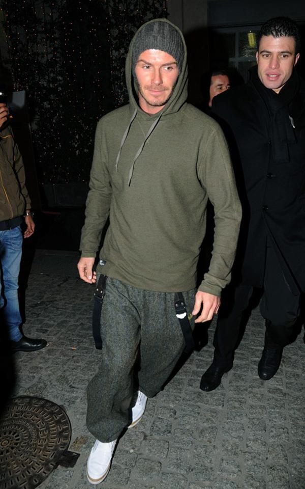 Slika 722 Street Style: David Beckham