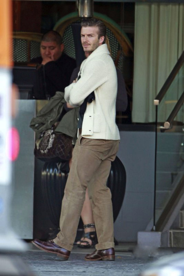 Slika 912 Street Style: David Beckham