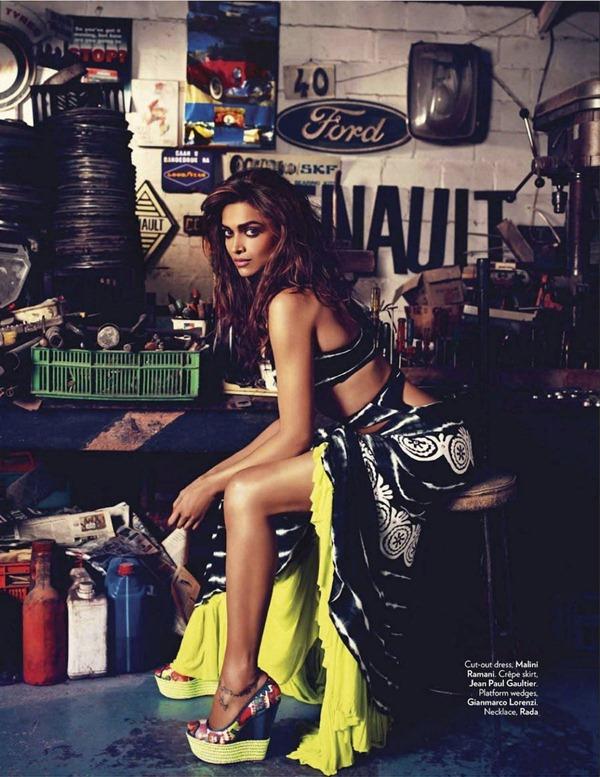 """Slika 918 """"Vogue India"""": Deepika Padukone osvaja Afriku"""