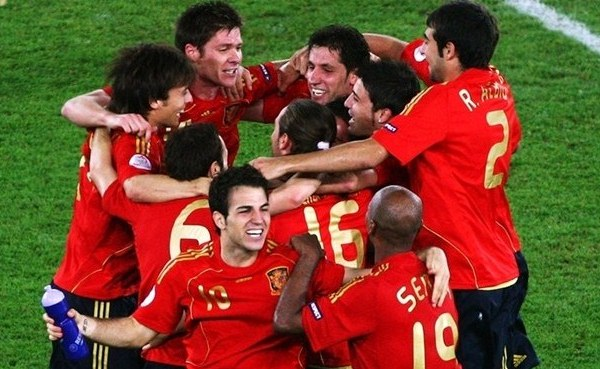 Spain 2008 EURO 2012: Za petama crvene furije