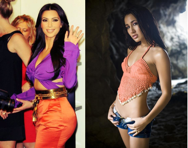 aa1 Trach Up: Skroz gola Kim Kardashian
