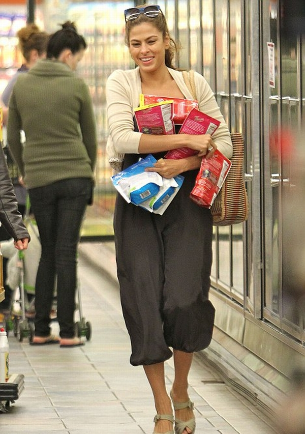 mendes Trach Up: Eva Mendes bez šminke