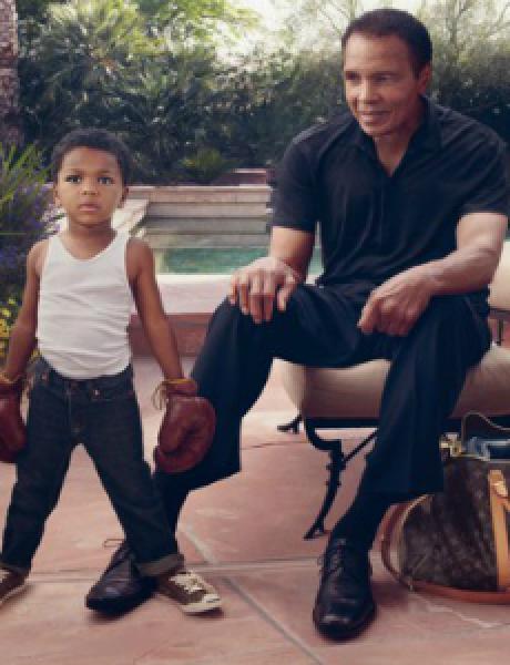 Modni zalogaj: Muhammad Ali u kampanji modne kuće Louis Vuitton