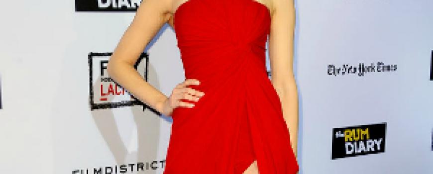 Trend sa crvenog tepiha: Haljina koja otkriva nogu