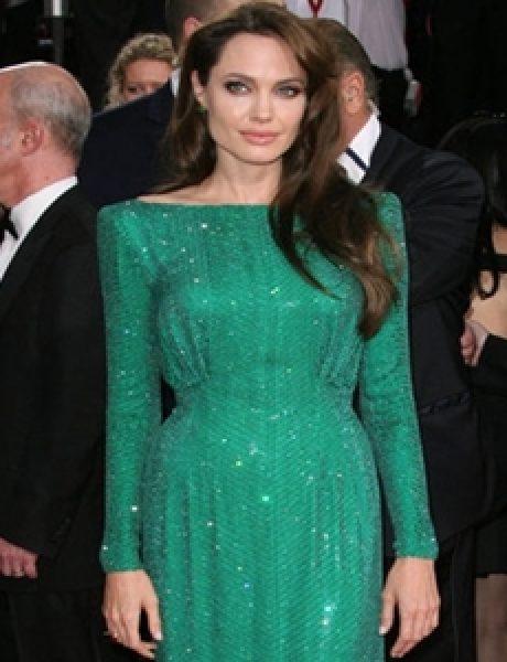 Trend sa crvenog tepiha: Zelena haljina